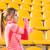 mulher · estádio · retrato · mulher · da · aptidão · menina - foto stock © deandrobot