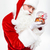 man santa claus standing and holding snow globe stock photo © deandrobot