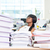 деловая · женщина · спальный · месте · молодые · столе · бизнеса - Сток-фото © deandrobot