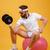verticaal · afbeelding · vergadering · fitness · bal - stockfoto © deandrobot