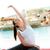 atraente · jovem · fitness · senhora - foto stock © deandrobot