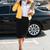 mulher · jovem · celular · caminhada · negócio · edifício · telefone · móvel - foto stock © deandrobot
