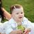 mãe · filha · ao · ar · livre · flor · sorridente - foto stock © deandrobot