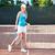 portret · gelukkig · tennis · jonge · tennisspeler · naar - stockfoto © deandrobot