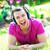 genç · adam · ev · kulaklık · eğlence - stok fotoğraf © deandrobot