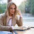 женщину · чтение · книга · кафе · окна - Сток-фото © deandrobot