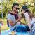 ピクニック · 男 · 幸せ · 夏 - ストックフォト © deandrobot