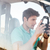 homem · piloto · sessão · cabine · pequeno · avião - foto stock © deandrobot