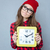 hipster woman holding wall clock stock photo © deandrobot