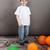 sorridente · moço · em · pé · inflável · colchão - foto stock © deandrobot