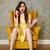 függőleges · kép · nő · ül · fotel · beszél - stock fotó © deandrobot