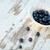 fraîches · bleuets · vintage · plaque · table · alimentaire - photo stock © deandrobot
