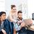 деловые · люди · говорить · таблетка · вместе · служба - Сток-фото © deandrobot