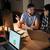 grupo · de · personas · de · trabajo · laptops · oficina · negocios · Foto - foto stock © deandrobot