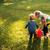 мальчика · Swing · девушки · семьи · трава · ребенка - Сток-фото © deandrobot