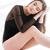 mulher · ventoso · cabelo · sessão · piso · estúdio - foto stock © deandrobot