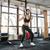 штанга · молодые · спортивный · спортзал - Сток-фото © deandrobot