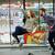 belle · couple · alimentaire · supermarché - photo stock © deandrobot