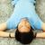 férfi · alszik · horkolás · bandázs · fiatal · jóképű · férfi - stock fotó © deandrobot