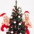 feliz · mulher · presentes · belo · branco · árvore · de · natal - foto stock © deandrobot