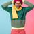 улыбаясь · молодые · африканских · человека · рубашку - Сток-фото © deandrobot