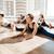 женщины · йога · класс · фитнес · студию - Сток-фото © deandrobot