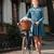genç · gülümseyen · kadın · bisiklet · sepet · tok · çiçek - stok fotoğraf © deandrobot