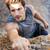 グリップ · 岩 · 次 · 手 · ホールド · 急 - ストックフォト © deandrobot