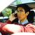 jovem · asiático · homem · falante · celular · feliz - foto stock © deandrobot