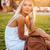 美麗 · 金發碧眼的女人 · 女子 · 時尚 · 性質 - 商業照片 © deandrobot