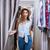 młodych · uśmiechnięta · kobieta · ubrania · showroom · kobieta · zakupy - zdjęcia stock © deandrobot