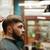 hombre · barba · peluquero · sesión · silla - foto stock © deandrobot