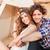 romantique · portrait · couple · tropicales - photo stock © deandrobot