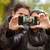 happy young couple making selfie photo stock photo © deandrobot
