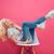 かなり · 若い女性 · 椅子 · 脚 · 魅力的な - ストックフォト © deandrobot