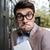 ritratto · magro · divertente · uomo · ragazzo · imprenditore - foto d'archivio © deandrobot