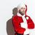 trzy · Święty · mikołaj · czerwony · studio · twarz - zdjęcia stock © deandrobot