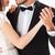 свадьба · Dance · красивой · пару · молодые · новобрачный - Сток-фото © deandrobot