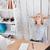joven · mesa · oficina · manos · silla · hermosa - foto stock © deandrobot