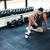 молодые · концентрированный · фитнес · человека · тренировки - Сток-фото © deandrobot