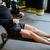 ローイング · マシン · ジム · 濃縮された · 小さな · スポーツマン - ストックフォト © deandrobot