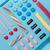 top · Ansicht · farbenreich · süß · Süßigkeiten · Zeile - stock foto © deandrobot