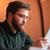 nadenkend · zakenman · tablet · vergadering · buiten · restaurant - stockfoto © deandrobot