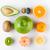 tropische · vruchten · Geel · creatieve · lay-out - stockfoto © deandrobot