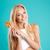 конфеты · зубов · красочный · девушки - Сток-фото © deandrobot