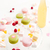 colorful macaroons sweet berries tasty marshmallows and lemonade stock photo © deandrobot