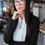 primo · piano · grave · giovani · imprenditrice · donna · panorama - foto d'archivio © deandrobot