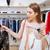 femme · robes · peuvent · pas - photo stock © deandrobot