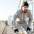 устал · бородатый · спортивных · человека · тренировки - Сток-фото © deandrobot