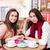 два · красивой · моде · женщины · обед · таблице - Сток-фото © deandrobot